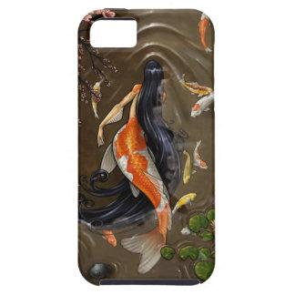 sirena del koi iPhone 5 Case-Mate funda