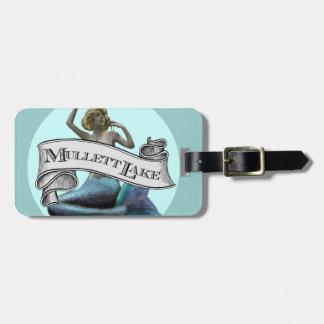 Sirena del lago Mullett Etiquetas Maleta