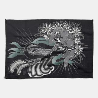 sirena del nouveau toalla