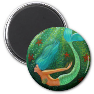 Sirena del salto imán redondo 5 cm