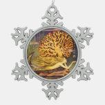 Sirena del vintage adorno