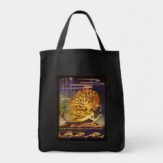 Sirena del vintage bolsas