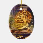 Sirena del vintage ornamente de reyes