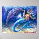 Sirena/delfín Impresiones