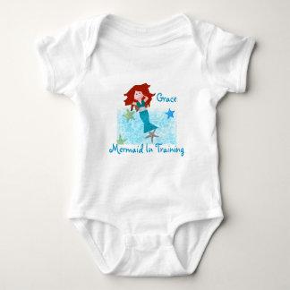 Sirena en el entrenamiento camisas