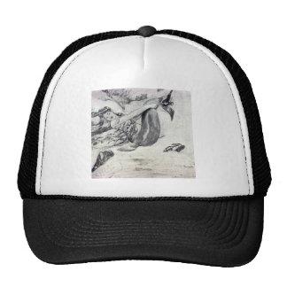 Sirena en la playa gorra