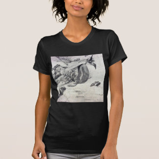 Sirena en la playa t shirt