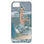 Sirena en roca