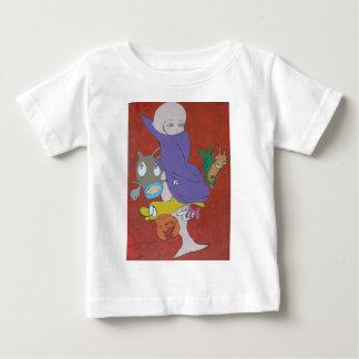 Sirena en sopa del tomate t shirt