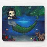 """""""Sirena en su gruta"""" Mousepad Alfombrillas De Ratones"""