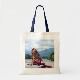 Sirena en un banco de arena bolsa