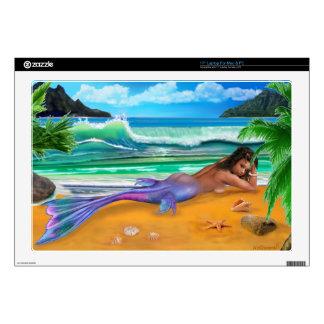 Sirena encantada portátil calcomanías