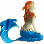 Sirena - escultura de la foto de la sirena esculturas fotográficas