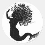 Sirena Etiqueta Redonda