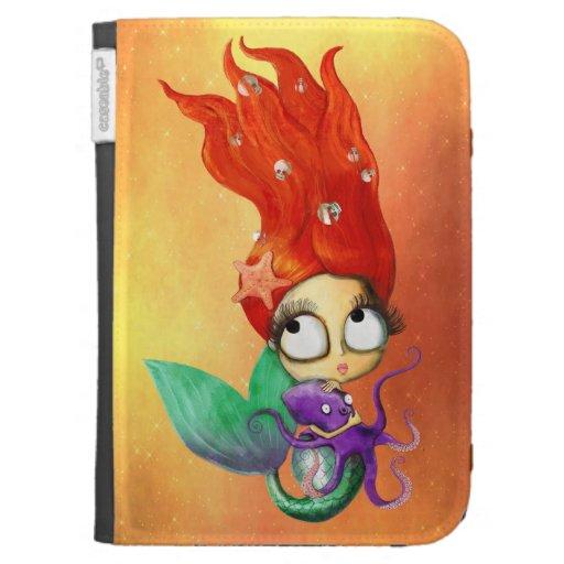 Sirena fantasmagórica con el pulpo