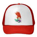 Sirena fantasmagórica con el pulpo gorras