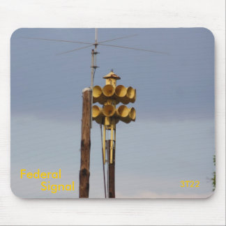 Sirena federal del fuego de la señal 3T22 Alfombrilla De Ratón