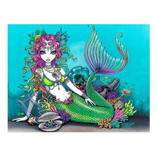 Sirena gótica de Lyra Postal