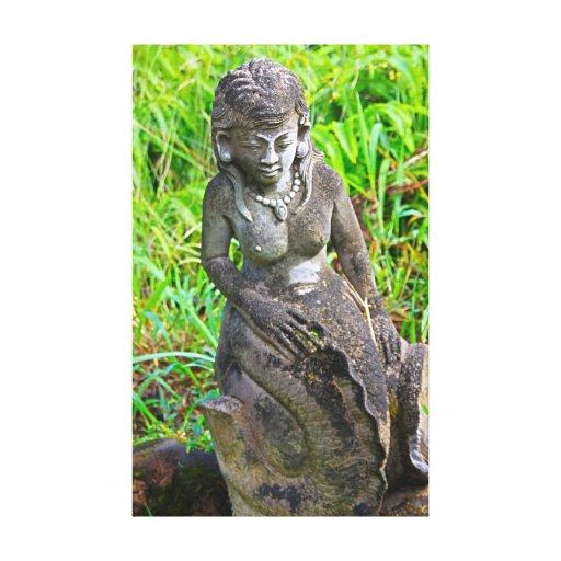 Sirena hawaiana lona envuelta para galerías