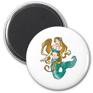 Sirena Imán Redondo 5 Cm