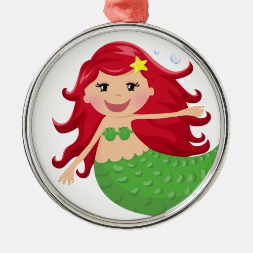 Sirena linda adorno