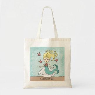 Sirena linda bolsa tela barata