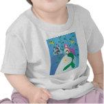 Sirena linda camiseta