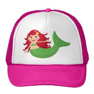 Sirena linda gorras de camionero