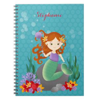 Sirena linda libro de apuntes