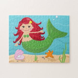 Sirena linda puzzle