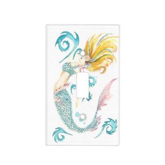 Sirena Luna del dragón Tapa Para Interruptor