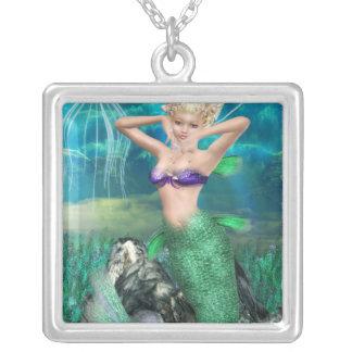 Sirena mágica pendiente