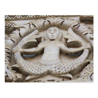 Sirena medieval postal