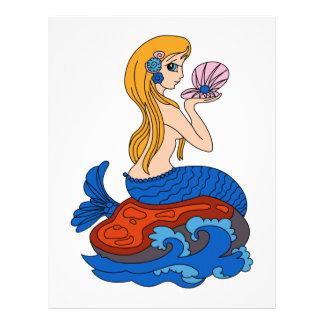 Sirena Membretes Personalizados