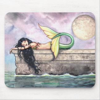 Sirena Mousepad el dormir por Molly Harrison