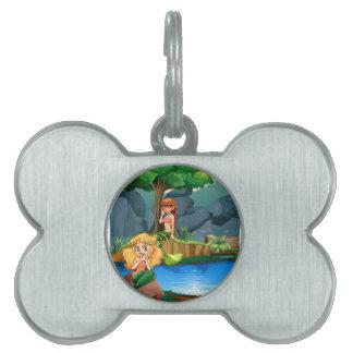 Sirena Placas De Mascota