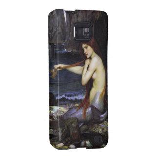Sirena por el caso de Samsung del Waterhouse Samsung Galaxy S2 Carcasas