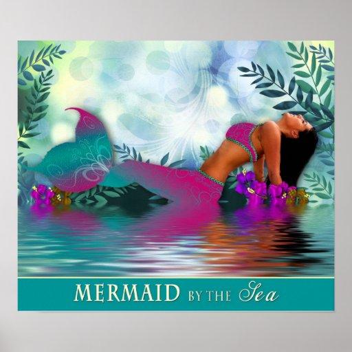 Sirena por el mar - poster