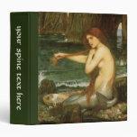 Sirena por el Waterhouse de JW, arte de la