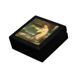 Sirena por el Waterhouse de JW, arte de la Cajas De Regalo