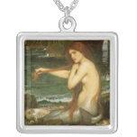 Sirena por el Waterhouse de JW, arte de la mitolog Grímpola