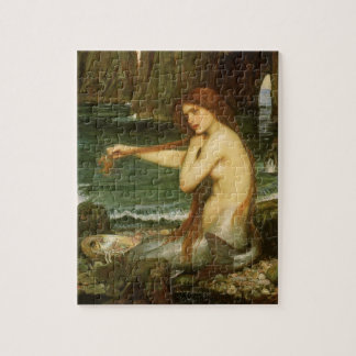 Sirena por el Waterhouse de JW arte de la Puzzles Con Fotos