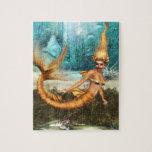 Sirena rubia puzzles con fotos