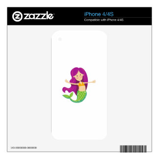 Sirena Skins Para eliPhone 4