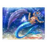 sirena, starseedhawaii.com tarjeta postal