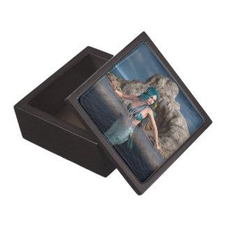 Sirena ultramarina cajas de joyas de calidad