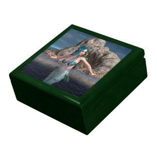 Sirena ultramarina caja de recuerdo