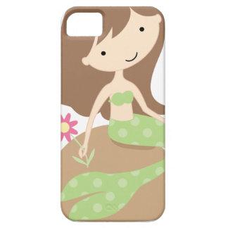 Sirena verde linda del KRW iPhone 5 Fundas