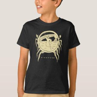Sirena y camiseta de los vientos comerciales
