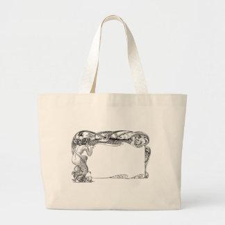 Sirena y gaviotas bolsas